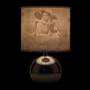 Lampenschirm mit Foto